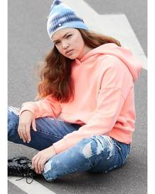 Lemonade/Scram iris bright neon girls active sweat hoodie
