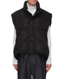 BALENCIAGA Stand collar technical puff vest