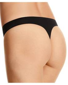 Jockey No Panty Line Promise Tactel G-String - Black, Size 10