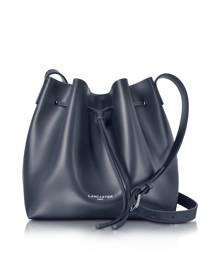 Lancaster Paris Designer Handbags, Pur Smooth Leather Bucket Bag
