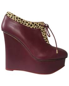 CHARLOTTE OLYMPIA Leather boots