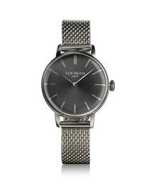 Locman Designer Women's Watches, 1960 Silver Stainless Steel Women's Watch