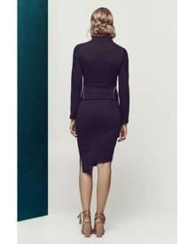 Matea Designs SYNCHRONICITY Black Split Skirt