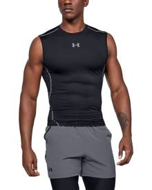 Under Armour Men's UA HeatGear® Armour Sleeveless Compression Shirt