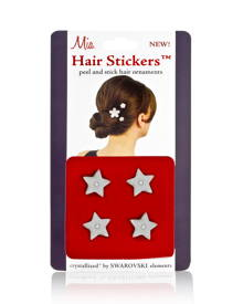 Mia Hair Stickers - Small