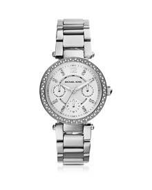 Michael Kors Designer Women's Watches, Parker Stainless Steel Women's Watch