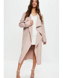 Missguided Oversized Waterfall Duster Jacket