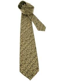 Pierre Cardin Vintage - patterned tie - men - Silk - One Size - YELLOW & ORANGE