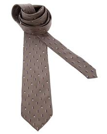 Pierre Cardin Vintage - printed tie - men - Silk - One Size - BROWN