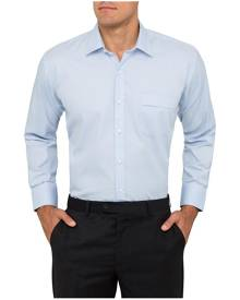 Van Heusen Shirts Classic Relaxed Fit Shirt Dobby Stripe Blue 37 To 52