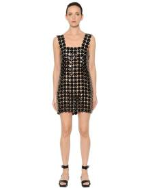PACO RABANNE Soft Plastic Mini Dress