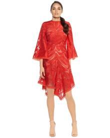 Talulah - Carnation Flared Sleeve Mini Dress
