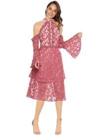Talulah - Genre Halter Dress - Coral