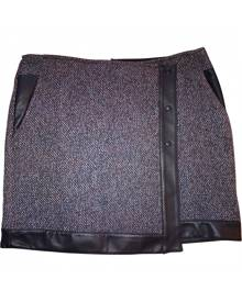 BAILEY 44 Tweed mini skirt