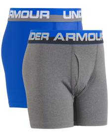 Under Armour 2-Pk. Boxer Briefs, Little Boys (2-7) & Big Boys (8-20)