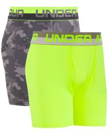 Under Armour 2-Pk. Boxer Briefs, Little Boys (4-7) & Big Boys (8-20)