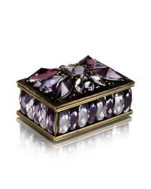 Welforth Purple Stone Trinket Box