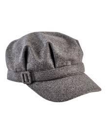 Women's San Diego Hat Company Newsboy Cap with Buckle CTH8065
