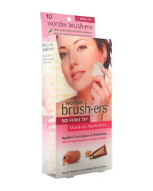Wonder Products Wonder Brush-ers Firm Tip Makeup Applicators